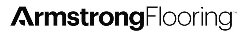 ArmstrongFlooring Logo White BG-1